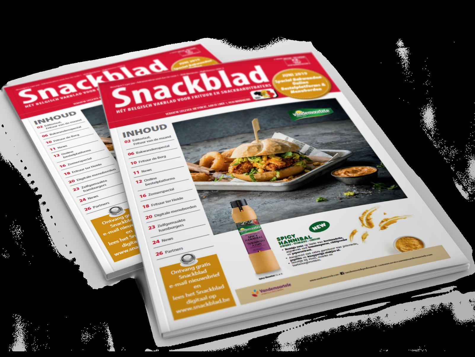 Snackblad Cover